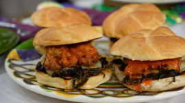 Mardi Gras recipes: Isaac Toups' fried chicken sliders