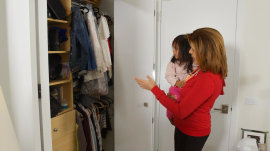 The Home Edit ladies work their makeover magic on Hoda's closet