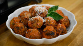 How to make Michael Symon's ricotta meatballs