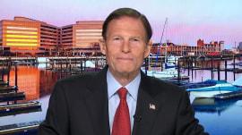 Sen. Blumenthal speaks out on Mueller report