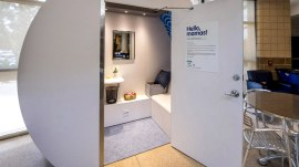 Mamava: Meet the 2 women behind the lactation room startup
