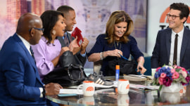Sheinelle Jones and Maria Shriver reveal what's in their bags