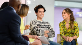 Cole Sprouse and Haley Lu Richardson talk 'Five Feet Apart'