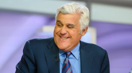 Jay Leno talks cholesterol, comedy and life after late-night