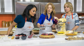 Melissa Clark makes Weekend TODAY anchors' favorite desserts