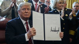 President Trump vetoes congressional bill to block emergency declaration