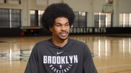 NBA star Jarrett Allen shares passion for tech with students