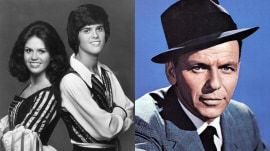Donny and Marie Osmond on their early career, working with Frank Sinatra