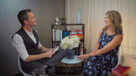 Neil Patrick Harris, Jenna on 1 book they'd each take to a deserted island