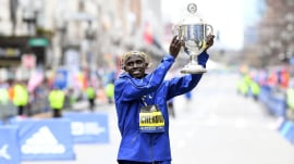 2019 Boston Marathon: See heartwarming moments from the race