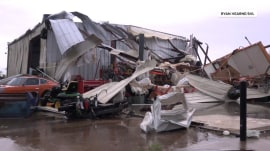 Tornadoes, severe storms rip across the South