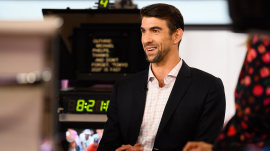Michael Phelps on parenting and Tiger Woods' big Masters win