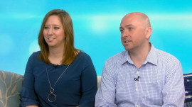 Kyle and Samantha Busch help 1 couple fund their IVF costs