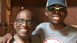 Al Roker talks about bond with son who has special needs