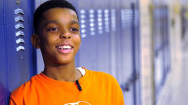 Meet the 11-year-old on a mission to help Chicago's homeless