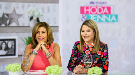 Jenna and Hoda discuss being in love triangles