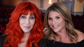 Jenna chats with Cher about love, life and her legendary costumes