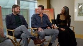 Hugh Jackman, Zach Galifianakis and Zoe Saldana talk 'Missing Link'