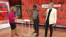 Play along with Jane Lynch's Red Nose Day-themed game