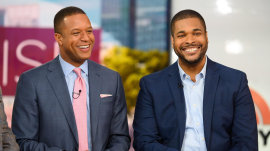 Craig Melvin's brother drops by TODAY for a surprise visit
