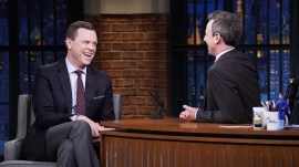 Willie Geist shares what Tracy Morgan keeps in his office