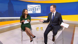 Which sandwich best describes Willie Geist and Kristen Welker's personalities?
