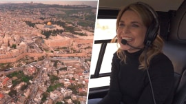 Frontiers of Faith: Savannah takes a helicopter tour of Israel