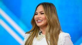 Chrissy Teigen on raising awareness for maternal mental health