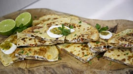 BBQ recipes: 'The Grill Dads' make pork carnitas quesadillas