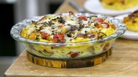 Mother's Day recipes: Make Siri Daly's spaghetti pie and bread pudding