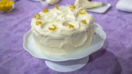 Make Mother's Day special with a lemon velvet layer cake