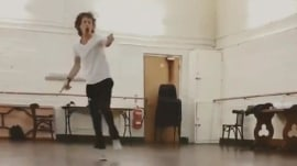 Mick Jagger shows off his moves weeks after heart surgery