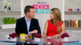 Jenna says George H.W. Bush cried when she revealed Poppy's name