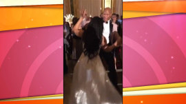 NFL player Ryan Shazier dances at his wedding 17 months after spine injury