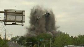 Historic Bethlehem Steel headquarters is imploded
