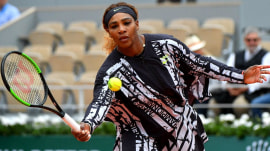 Serena Williams rocks bold look at French Open after catsuit ban