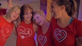 Fitness teacher inspires women in her community to be active