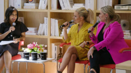 See Sheinelle Jones talk to Cat and Nat for Modern Motherhood panel