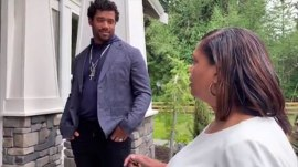 Russell Wilson surprises mom with a house on Mother's Day