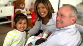 Hoda Kotb calls TODAY with an update on baby Hope