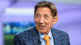 Football legend Joe Namath talks about his new book, 'All the Way'