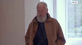 Watch Kanye West style David Letterman in Yeezy clothing