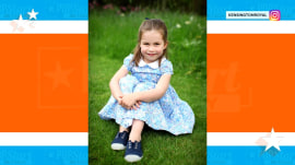 New Princess Charlotte photos released for her 4th birthday