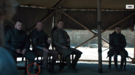 Misplaced water bottle sneaks into 'Game of Thrones' series finale