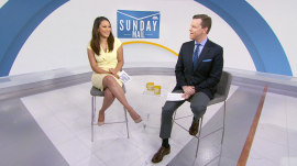 What would Willie Geist and Morgan Radford's Kentucky Derby names be?