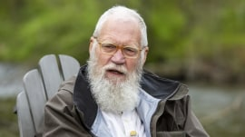 David Letterman tells Willie Geist why he decided to grow a beard