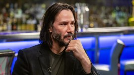 Keanu Reeves talks filming 'John Wick 3' fight scenes, almost changing his name and more