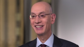 See NBA commissioner Adam Silver's extended interview with Craig Melvin