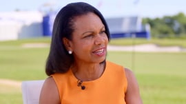 Condoleezza Rice shares her opinion on race relations in the US