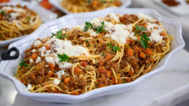 Meal-prep recipes: 3 ways to make tummies happy with Bolognese
